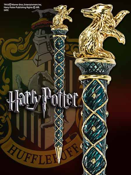 foto Harry Potter Hufflepuff Gold Pen
