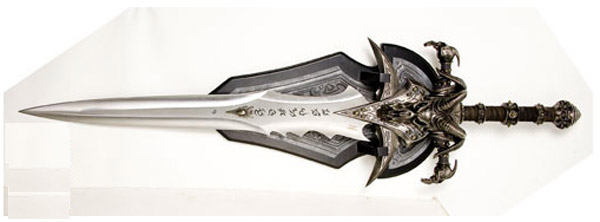 foto Warcraft: Frostmourne Sword Replica