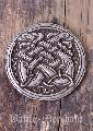 Belt Buckle - Celtic Dogs